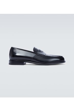 Fendi Leather loafers