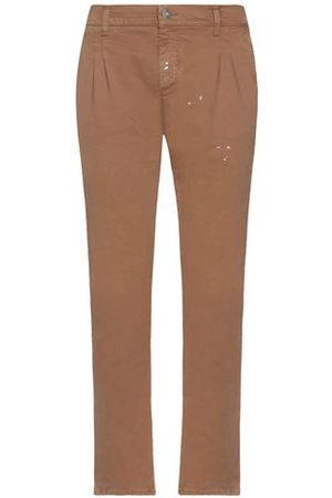 GREY DANIELE ALESSANDRINI Men Trousers - TROUSERS - Casual trousers