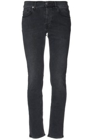 Aglini Men Trousers - DENIM - Denim trousers