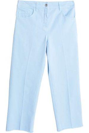 Maison Kitsuné Women Trousers - DENIM - Denim trousers