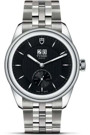 TUDOR Glamour Double Date Stainless Steel Watch 42mm