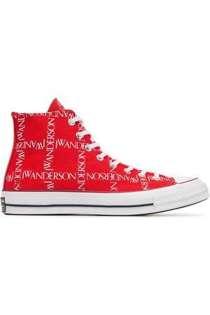 J.W.Anderson Men Trainers - X Converse Logo Print Sneakers