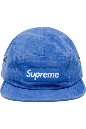 Supreme Hats - Washed linen Camp cap