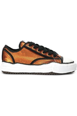 Maison Mihara Yasuhiro Trainers - Sequin-embroidered low-top trainers