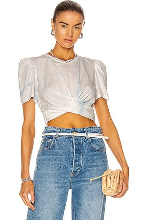 A.L.C. Monica Tee in Ice