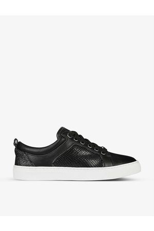 Dune Women Trainers - Estee snake-print faux-leather trainers