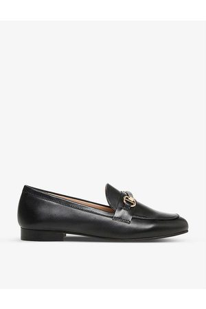 Dune Women Loafers - Grange snaffle-trim leather loafers