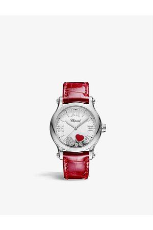 Chopard Women Watches - 278582-3005 Happy Sport stainless-steel