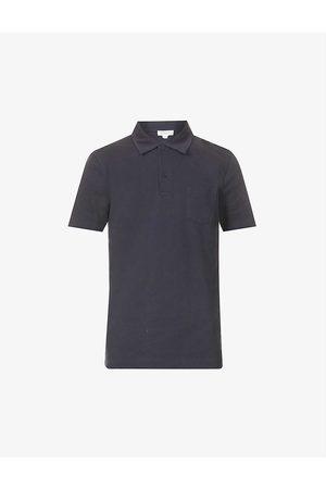 Sunspel Men Polo Shirts - Riviera cotton-piqué polo shirt