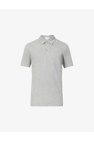 Sunspel Men Polo Shirts - Riviera cotton-piqué polo shirt
