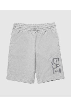 Emporio Armani EA7 Men Fleece Jackets - Men's Visibility Logo Fleece Shorts
