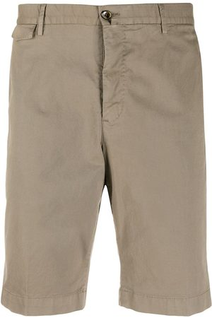 PT01 Men Slim - Slim-fit chino shorts - Neutrals