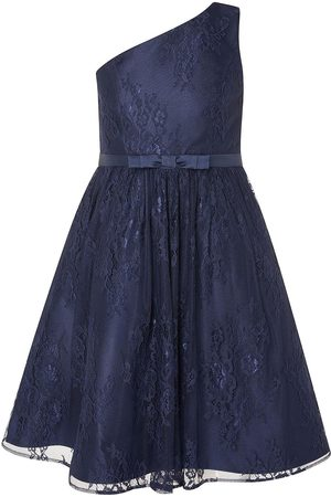 Monsoon Girls Lace One Shoulder Prom Dress