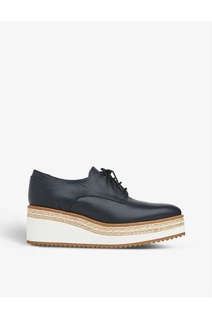 LK Bennett Women Wedges - Pembridge espadrille-wedge Oxford shoes