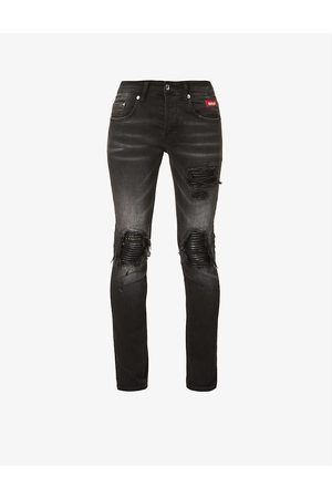 Inside OUT Denim Men Tapered - Riri studded tapered jeans