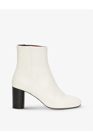 Claudie Pierlot Women Ankle Boots - Avril heeled leather ankle boots