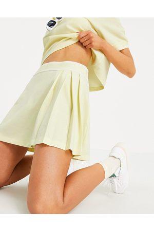 adidas Tennis Luxe' logo pleated skirt in hazy