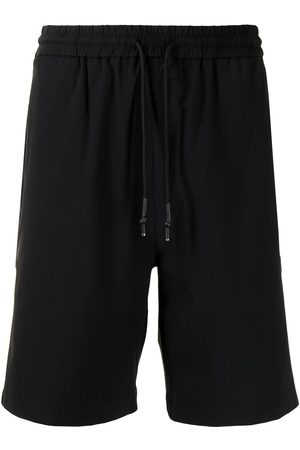 Off-Duty Piped-detail track shorts