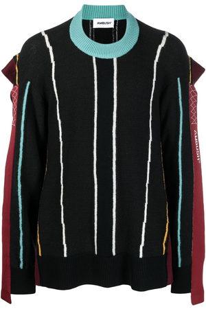 AMBUSH Striped-knit jumper