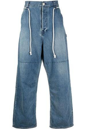 AMBUSH Drawstring wide-leg jeans