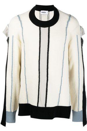 AMBUSH Stripe-pattern knit jumper - Neutrals