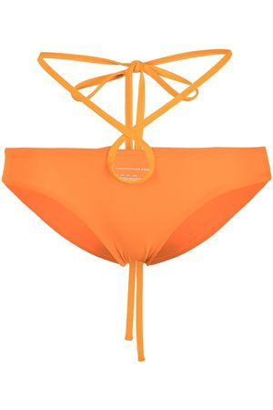 Christopher Esber Looped-tie bikini bottoms
