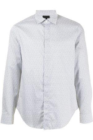 Emporio Armani Logo-print classic shirt