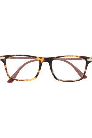 Prada Sunglasses - Tortoiseshell-effect square-frame glasses