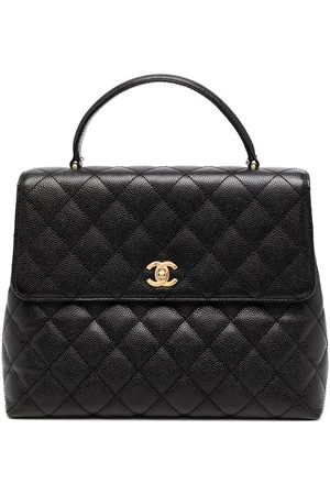 Chanel Pre-Owned 2003 diamond quilted briefcase