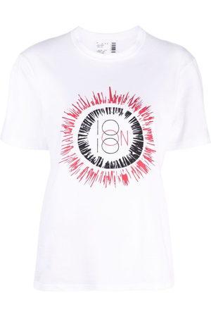 10 CORSO COMO Sun logo print T-shirt