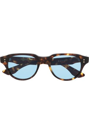 DITA EYEWEAR Tortoiseshell-effect round-frame sunglasses