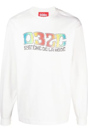 032c Logo-print long-sleeve T-shirt