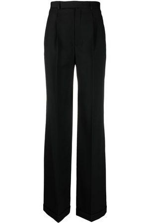 Saint Laurent Tailored wide-leg trousers