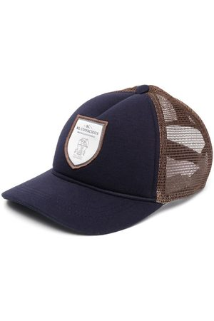 Brunello Cucinelli Boys Hats - Be Conscious patch cap
