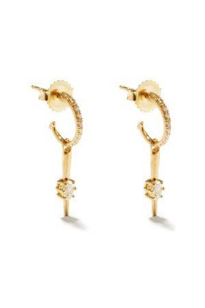 Jade Trau Rae Diamond & 18kt Earrings - Womens