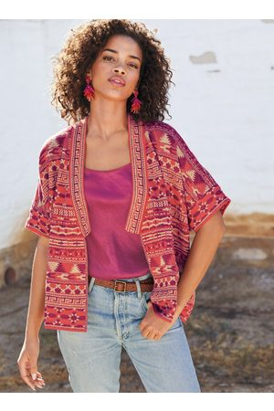 Peruvian Connection Agra Pima Cotton Reversible Kimono