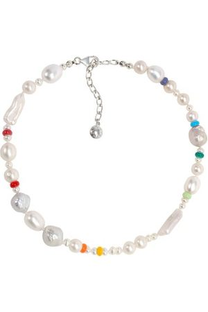 Fry Powers Coco Baroque Pearl & Sterling-silver Choker - Womens - Pearl