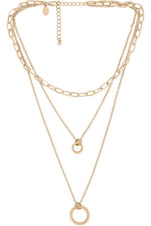 8 Other Reasons Circle Layer Necklace in .