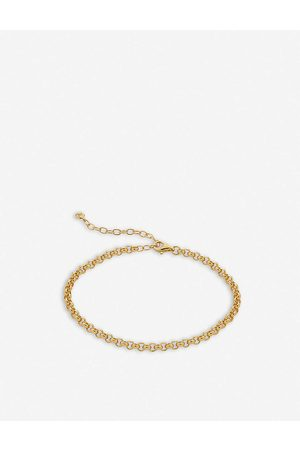 Monica Vinader Vintage Chain 18ct recycled -plated vermeil sterling-silver bracelet