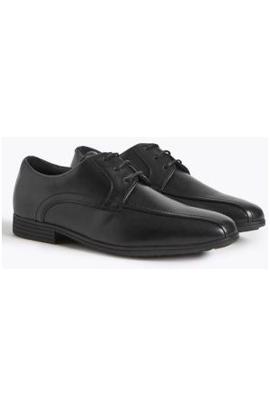 Marks & Spencer Boys School Shoes - Boys Kids' Leather School Shoes (13 Small - 10 Large) - 7.5 LWDE