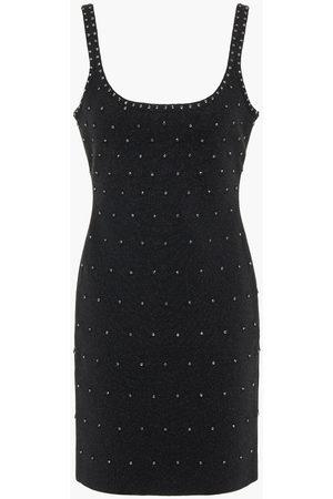 Hervé Léger Women Dresses - Hervé Léger Woman Crystal-embellished Bandage Mini Dress Size M