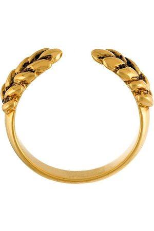 Aurélie Bidermann Wheat' open ring - Metallic