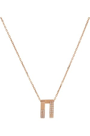 Repossi Antifer rose-gold and diamond necklace