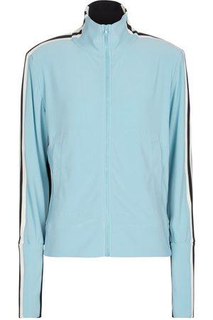 Norma Kamali Side-striped track jacket