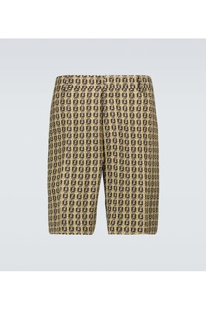 Fendi Interlace FF Bermuda shorts
