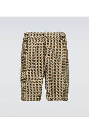 Fendi Interlace FF Bermuda shorts