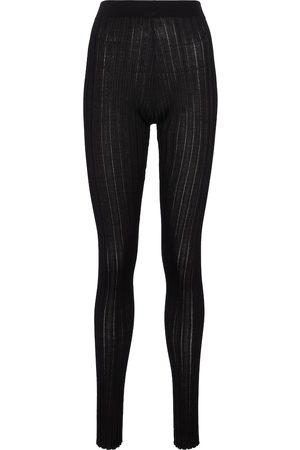PETAR PETROV Erin high-rise silk leggings