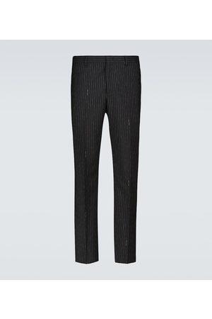 Fendi Pinstriped wool pants