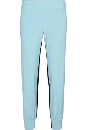 Norma Kamali Side-striped trackpants