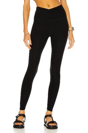Beyond Yoga At Your Leisure Legging in Darkest Night
